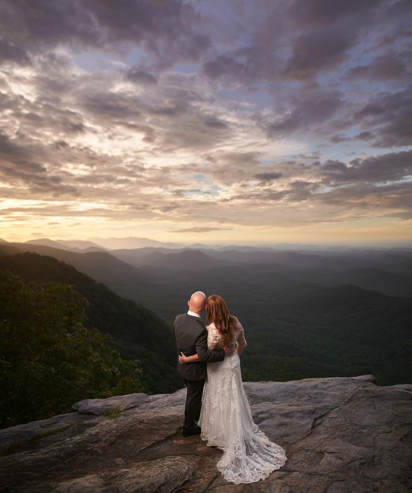 Tissiana And John's Sunrise Wedding At Pretty Place Chapel